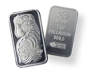 Buying and Selling Palladium Bars